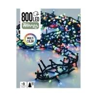 Micro Cluster 800 LED's 16 meter multicolor  Alleen deze we…
