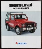 Folder - SUZUKI Samurai accessoires - 1990