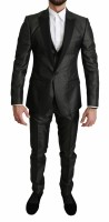 Dolce & Gabbana Gray Single Breasted 3 Piece MARTINI Suit I…
