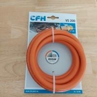 CFH gasslang 2m voor campingkooktoestellen en barbecues