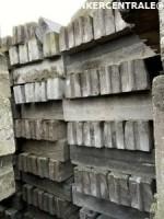 20269 ROOIKORTING 3.000stuks betonbanden 13/15x20x100cm tro…