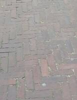 20264 ROOIKORTING 1.000m2 rood bruin gebakken klinkers dikf…