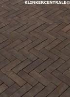 18068 NIEUWE paars bruin gebakken klinkers dikformaten Viol…