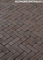 17708 NIEUWE zwart bruin gebakken klinkers dikformaten Terr…