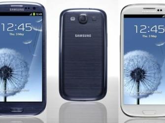 Samsung Galaxy S3 blauw geseald
