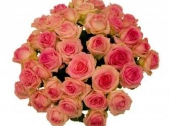 Roze Rozen Boeket online bestellen