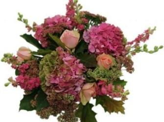 Herfst Hortensia Boeket direct vanaf de veiling