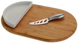 Kaasplank (30x19.5) met bakje en mes  Alleen deze week 10%…