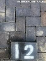 20296 90m2 antraciet gebakken klinkers keiformaat stenen Lx…
