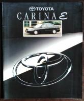 Folder/brochure - TOYOTA Carina E