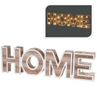 HOME - houten letters - 38cm - 28 LED  Alleen deze week 10%…