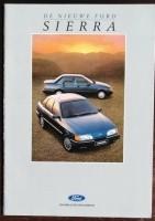 Folder/brochure - De nieuwe FORD Sierra