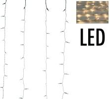 Gordijnverlichting - 220LED -  200x100cm - warm wit  Alleen…