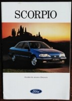 Folder/brochure - FORD Scorpio