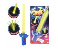 Buigbaar zwaard met licht 30 cm