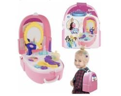 Toi-toys Beautyset In Rugzak 19-delig + Toverstaf / Kroon