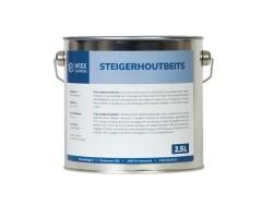 Wixx Steigerhoutbeits | 10 Kleuren (2,5L, Rood)
