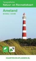 Wandelkaart Ameland | Kaarten en Atlassen