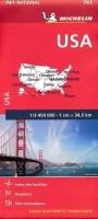 Wegenkaart - Landkaart 761 USA Verenigde Staten - Michelin…