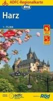 Fietskaart Harz | ADFC Regional- und Radwanderkarten - BVA…