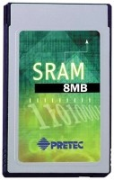 8MB SRAM Card-Type II-Metal Digital Storage