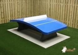 HeBlad Voetvolleybaltafel Beton Blauw