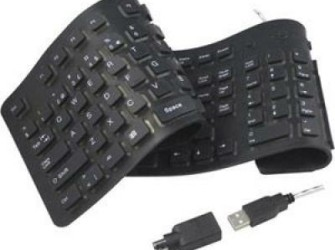GRATIS Bezorgd: Flexibel USB Toetsenbord Full-Size