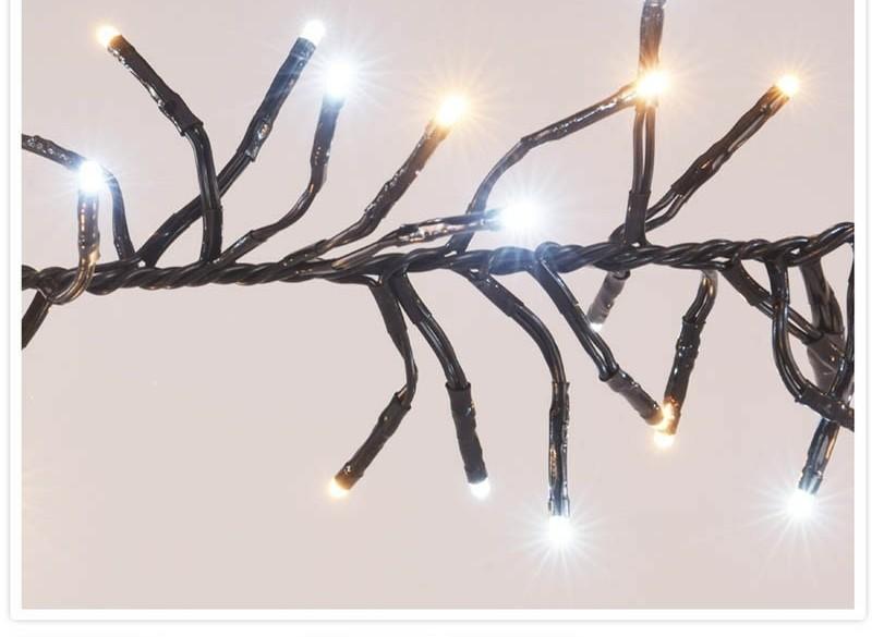 Clusterverlichting - 384 LED - 2-kleuren: wit + warm wit  A…