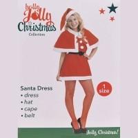 Kerstvrouw pak- 4-delig  Alleen deze week 10% extra korting