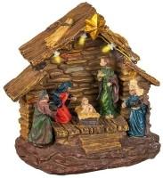 Kerstkribbe met verlichting  Alleen deze week 10% extra kor…