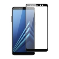 3-Pack Samsung Galaxy A8 Plus 2018 Full Cover Screen Protec…