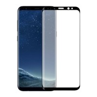 2-Pack Samsung Galaxy S8 Full Cover Screen Protector 9D Tem…