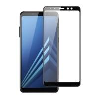 Samsung Galaxy A8 2018 Full Cover Screen Protector 9D Tempe…