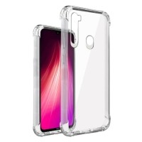 Xiaomi Redmi Note 8T Transparant Bumper Hoesje - Clear Case…