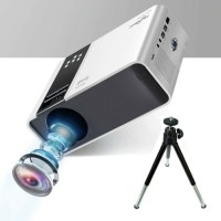 TD90 Mini LED Projector met Tripod Statief - Mini Beamer Ho…