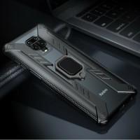 Xiaomi Redmi Note 9 Hoesje  - Magnetisch Shockproof Case Co…