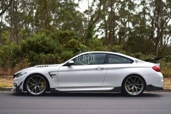 Carbon side skirts MAD F8x M3/M4