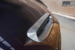 Carbon hood scoop F56