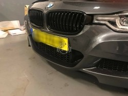 Zwarte grill nieren BMW 3 Serie F30 F31