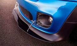 Mini Cooper R50 R53 R56 voorlip splitter zwart