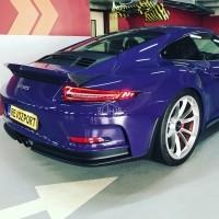 Carbon spoiler vleugel delete Porsche GT3 RS 991.1