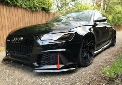 Audi RS6 C7 Carbon splitters