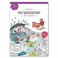 XXL speel- en kleurplaat Fiep Westendorp