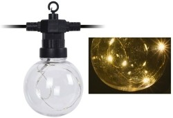 Feestverlichting 10 LED-lampen - met timer - op batterij  A…