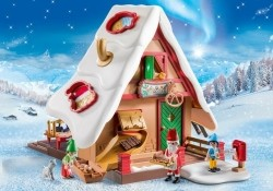 Playmobil Christmas 9493 Kerstbakkerij met koekjesvormen