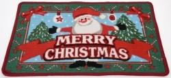 Kerst Deurmat Happy Santa 60x40 cm  Alleen deze week 10% ex…