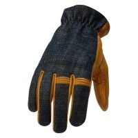 Torc hollywood gold motor glovesSize: S = 18.5 - 20.5 cm