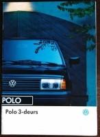 Folder/brochure - Volkswagen Polo 3-deurs 1993