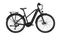 ConwayCairon T 500 E Bike dames mat zwart/blauw Bosch 625…