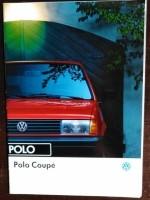 Folder/brochure - Volkswagen Polo Coupé - 1993